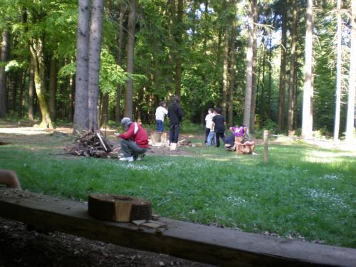 Walderlebniszentrum Übernachtung